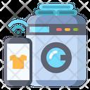 Washing Machine Smart Icon