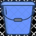 Washing Bucket Water Bucket Plastic Bucket Icon