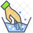 Washing Clothes Hand Wash Detergent Icon