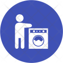 Clothes Washing Utensils Icon
