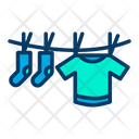 Drying Clothes Dry Clothes Icon