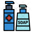Clean Cleaning Corona Virus Icon