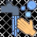 Hand Washing Clean Hygiene Icon