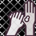 Washing Hand Hand Wash Gesturing Icon