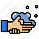 Washing Hand Personal Hygiene New Normality Icon