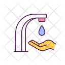 Washing Hands Water Icon