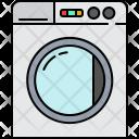 Washing Machine Device Icon