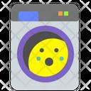 Washing Machine Washing Dryer Icon