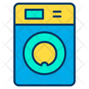 Washing Machine Electric Appliances Cleaning Icon