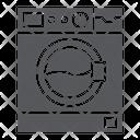 Washing Machine Appliance Icon