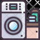 Washing Machine Washing Laundry Machine Icon