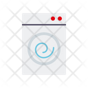 Washing Machine Appliance Chores Icon