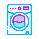 Laundry Service Machine Icon
