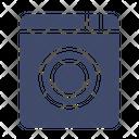 Washing Machine Laundry Electronic Icon
