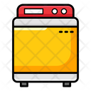 Washing Machine Electric Washer Washing Clothes Icon