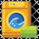 Laundry Washing Housekeeping Icon