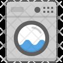 Laundry Washing Machine Icon