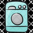 Laundry Machine Washing Machine Washing Clothes Icon