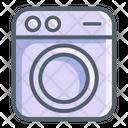 Electronic Washing Washing Machine Icon