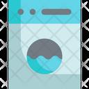 Washing Machine Laundry Cleaning Icon