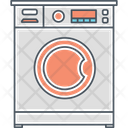 Washing Machine Laundry Machine Cloth Washer Icon