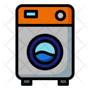 Washing Machine Laundry Clean Icon