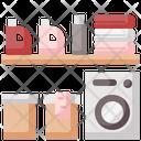 Laundry Machine Washing Icon