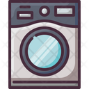 Dryer Laundromat Laundry Service Icon