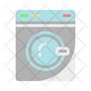 Washing Machine Appliances Clothing Icon