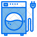 Washing Home Appliances Electric Icon