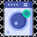 Washing Machine Smart Home Laundry Icon