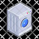 Automatic Washer Washing Machine Laundry Machine Icon