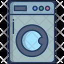 Washing Machine Lundary Machine Cloth Washer Icon