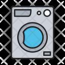 Laundry Washer Washing Icon