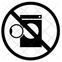 Not Allowed Washing Icon