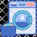 Washing Machinecloth Washer Machine Icon