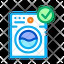 Washing Mattress Icon