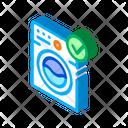 Clothes Laundry Machine Icon
