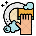 Washing Plates Cleaning Icon