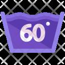 Washing temperature Icon