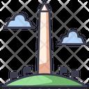 Washington Usa Monument Icon