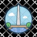Washington Monument Famous Building Landmark Icon