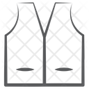 Waistcoat Formal Wear Mens Vest Icon