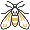 Wasp Moth Insect Icon