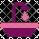 Westafel Toilet Bathroom Icon