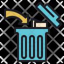 Waste Eliminaion Saving Icon