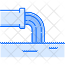 Pipe Waste Water Icon