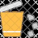 Waste Dustbin Trash Icon