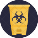 Personal Protective Equipment Waste Toxic Icon