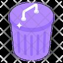 Waste Bin Icon